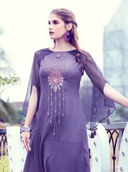 Fancy Fabric Party Party Wear Kurti