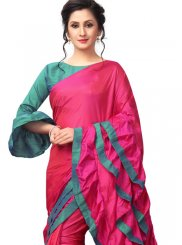 Fancy Fabric Plain Saree