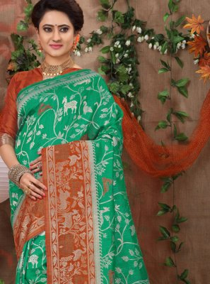 Fancy Fabric Traditional Designer Saree