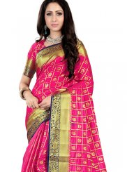 Fancy Fabric Weaving Traditional Saree