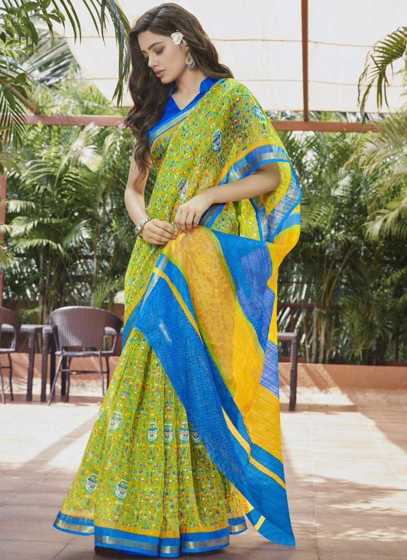 Fancy Festival Printed Saree