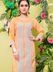 Fancy Khadi Casual Kurti