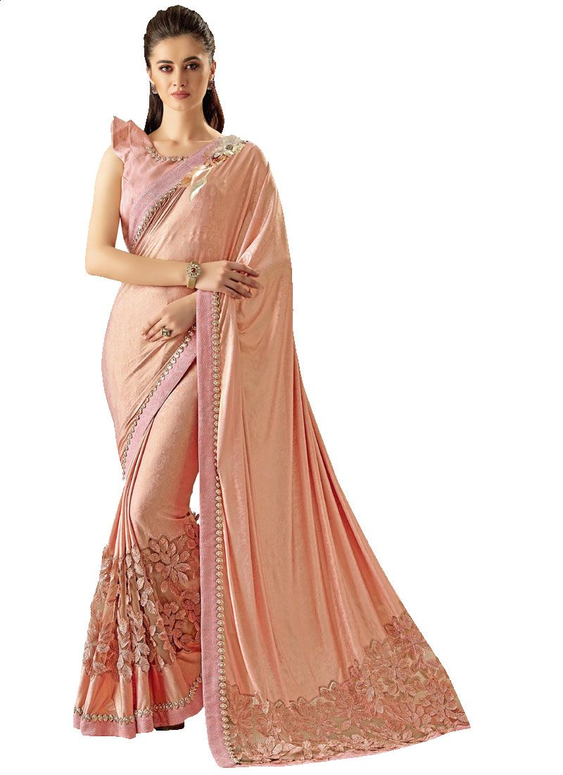Fancy Lycra Classic Designer Saree
