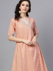 Fancy Pink Party Wear Kurti