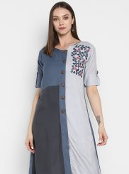 Fancy Rayon Party Wear Kurti