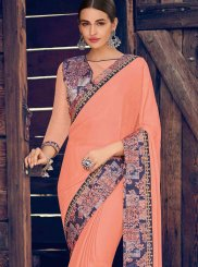 Faux Chiffon Ceremonial Saree