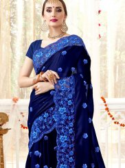 Faux Georgette Ceremonial Classic Saree