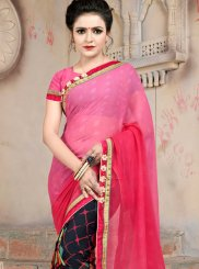 Faux Georgette Multi Colour Casual Saree