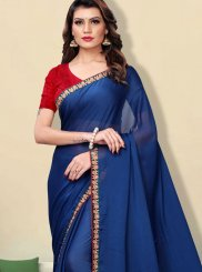 Faux Georgette Party Classic Designer Saree