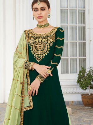 Faux Georgette Readymade Lehenga Choli