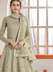 Faux Georgette Reception Anarkali Suit