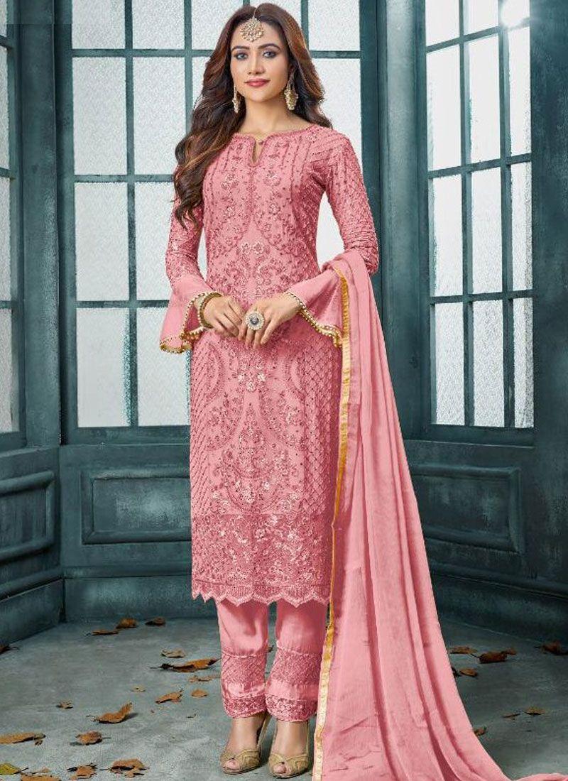 Faux Georgette Reception Pakistani Salwar Suit