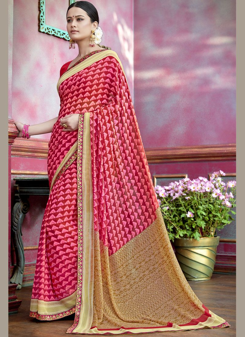 7b54f9c4b Buy Online Faux Georgette Saree   98895 -