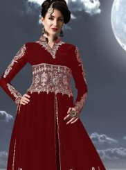 Floor Length Anarkali Suit For Festival