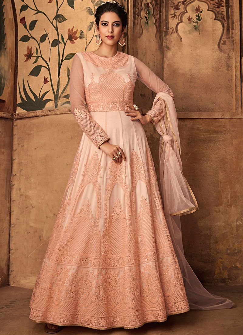 Floor Length Anarkali Suit For Wedding