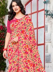 Georgette Casual Trendy Saree