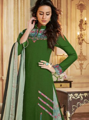 Georgette Designer Palazzo Salwar Suit