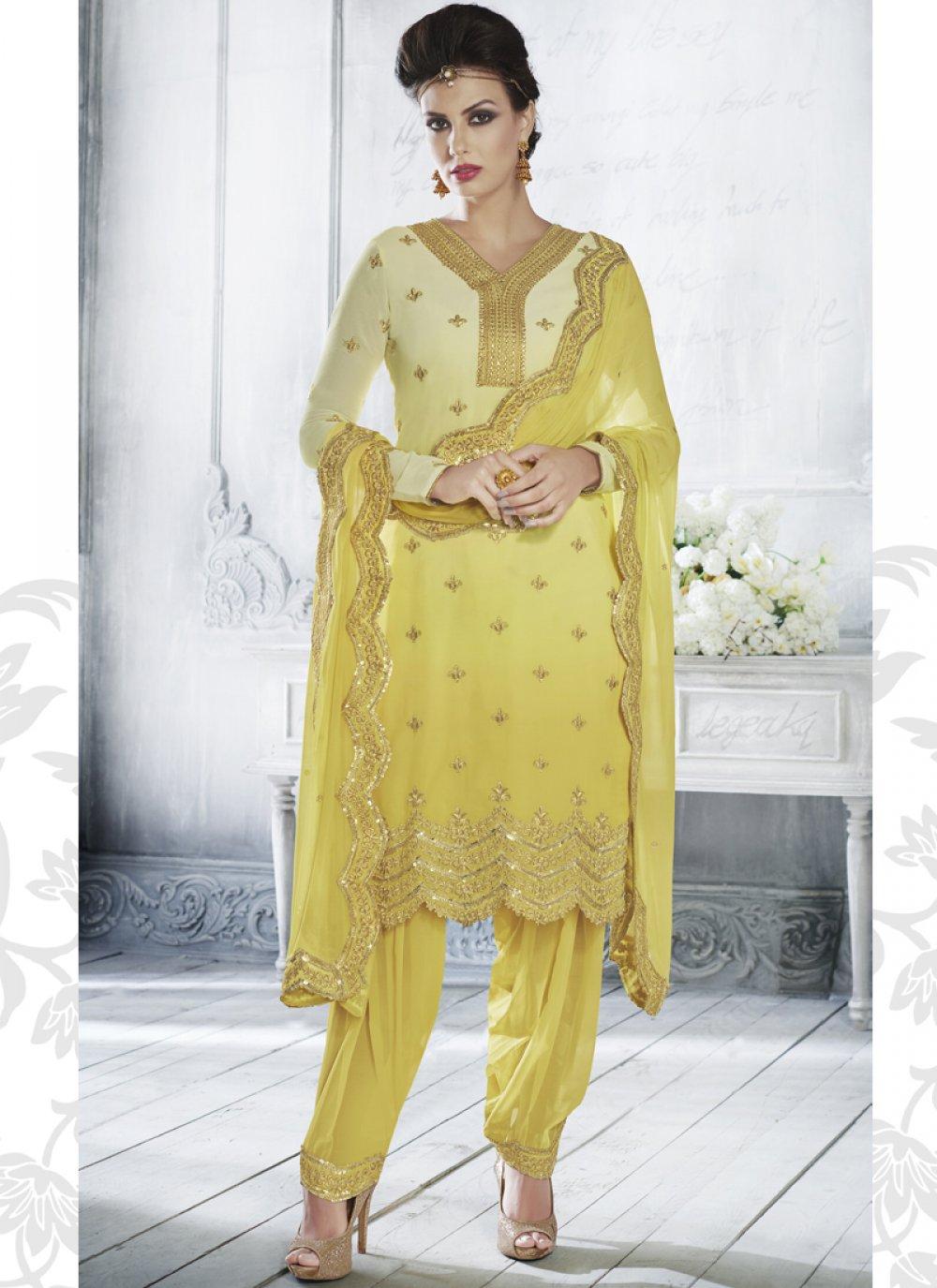 Georgette Designer Salwar Suit