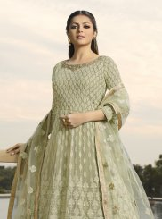 Georgette Embroidered Anarkali Salwar Suit