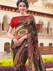 Georgette Festival Casual Saree