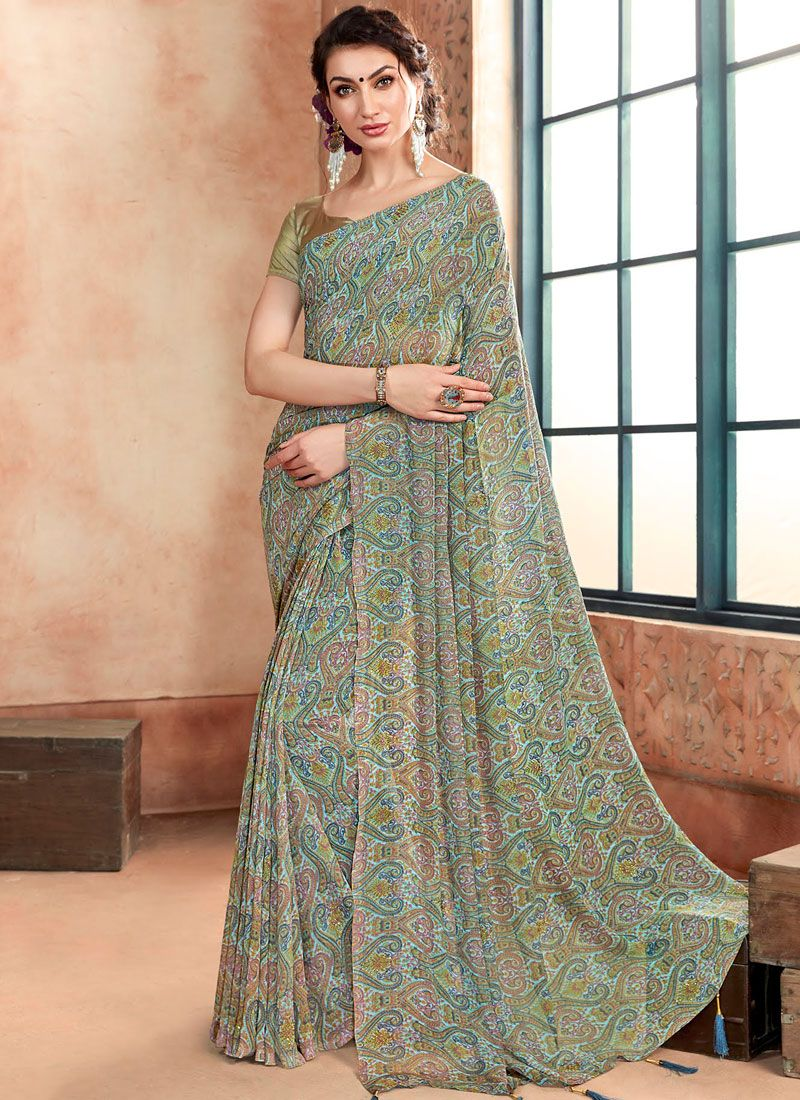 Georgette Party Casual Saree