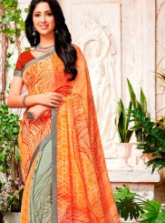 Georgette Party Trendy Saree