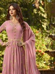 Georgette Pink Designer Salwar Kameez