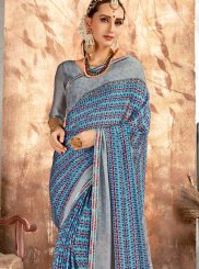 Georgette Printed Printed Saree