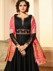 Georgette Satin Sangeet Anarkali Salwar Suit