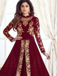 Georgette Wedding Anarkali Salwar Suit