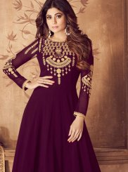 Georgette Wedding Anarkali Suit