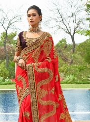 Georgette Wedding Designer Saree