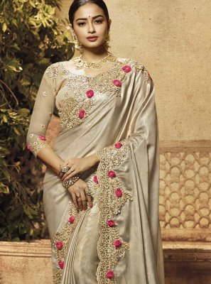 Gold Art Silk Zari Classic Saree