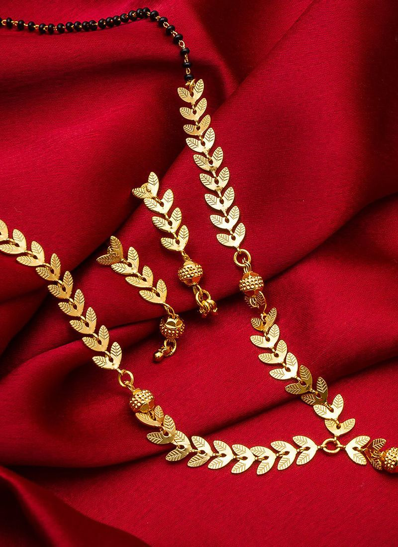 Gold Ceremonial Mangalsutra