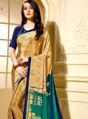 Gold Festival Trendy Saree