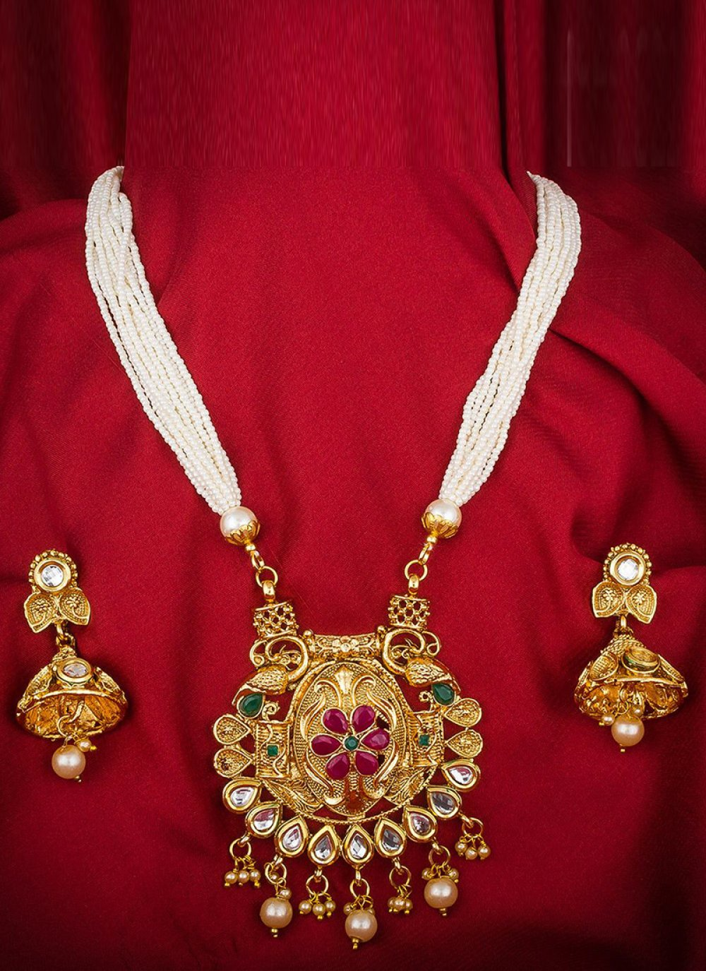 Gold {occasion} Necklace Set