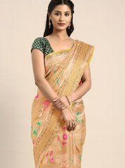 Gold Party Classic Saree