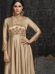 Gold Readymade Gown