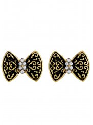 Gold Reception Ear Rings