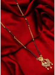 Gold Stone Work Ceremonial Mangalsutra