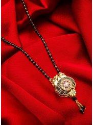 Gold Stone Work {occasion} Mangalsutra
