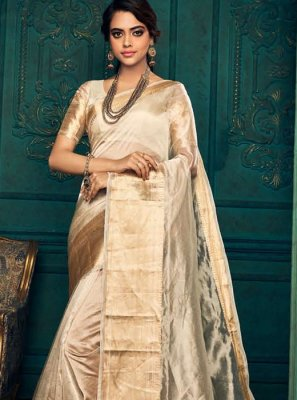 Gold Traditional Designer Saree