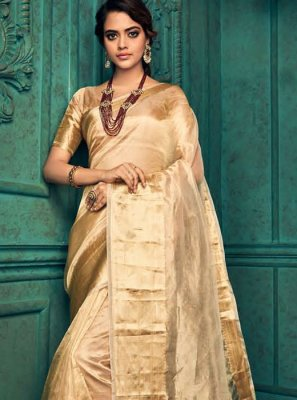 Gold Wedding Designer Traditional Saree