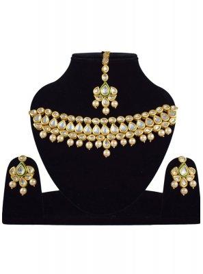 Gold Wedding Necklace Set