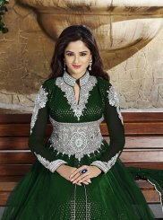 Green Anarkali Salwar Kameez
