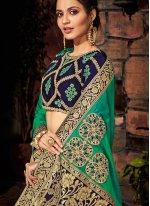 Green Art Silk Classic Saree