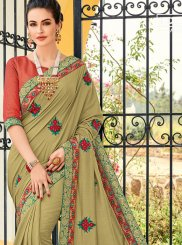 Green Art Silk Traditional Saree