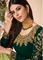 Green Ceremonial Salwar Suit