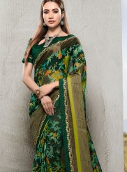 Green Ceremonial Saree