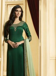 Green Color Designer Pakistani Suit